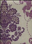 Boutique Vintage Vasari Aubergine Wallpaper 952700 By Arthouse For Options